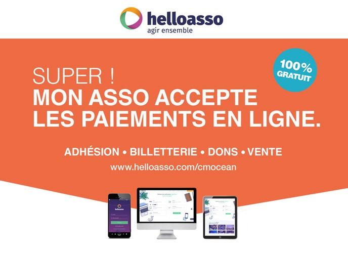 Super ! Mon asso accepte les paiements en ligne. Découvrez le partenariat Crédit Mutuel - HelloAsso.