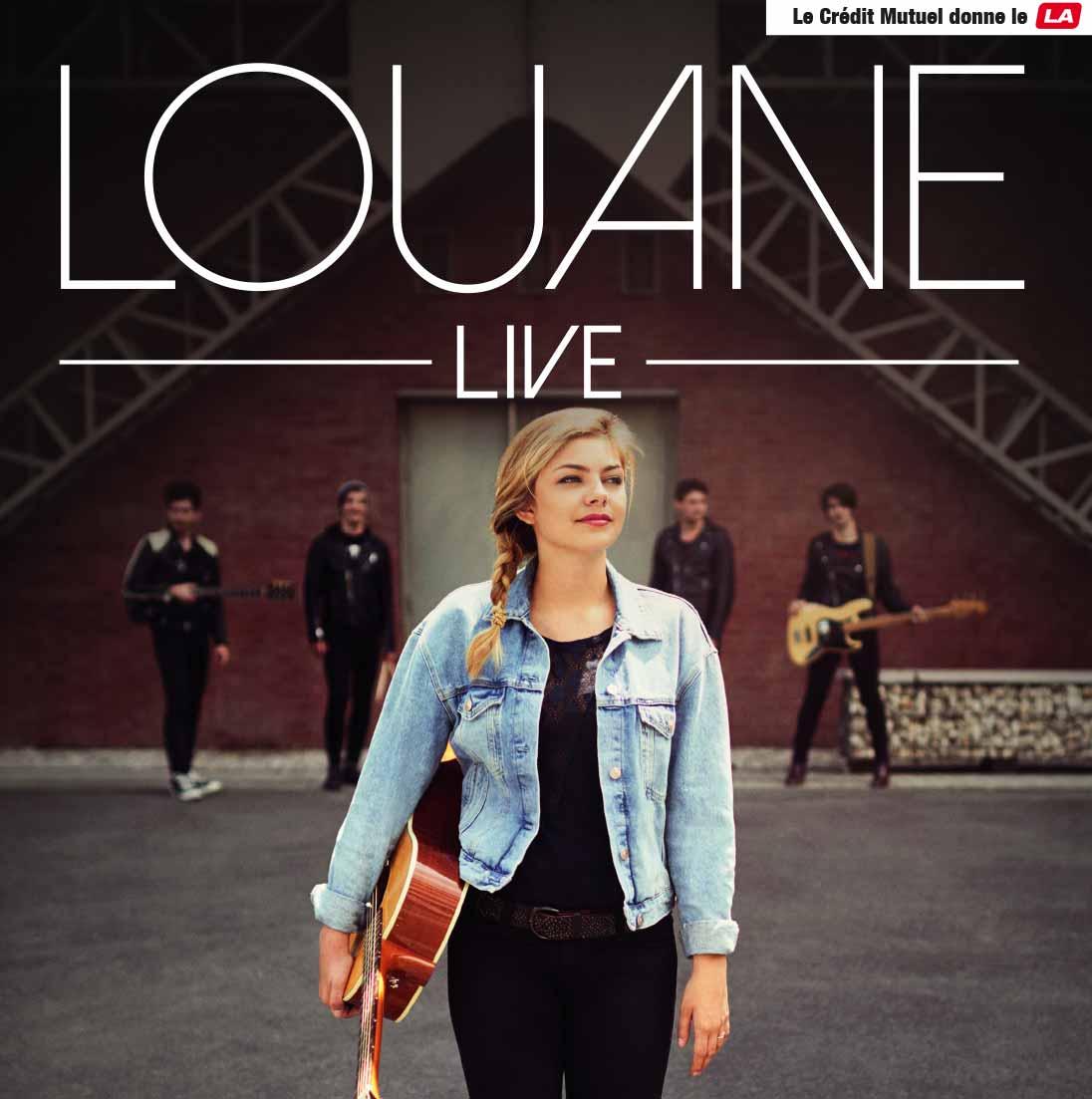 Tourn e live louane 2016 le cr dit mutuel donne le la for Musique de louane