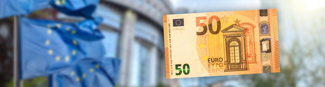 Le Nouveau Billet De 50 Euros Arrive Le 4 Avril 2017