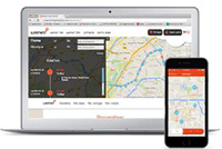 application Weenect pour collier GPS
