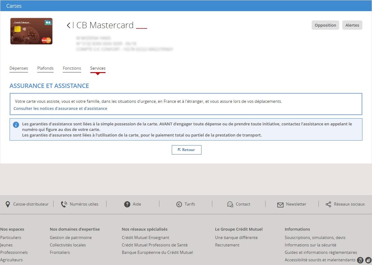 Plafonds Paiements En Ligne Parametrez Votre Carte Credit Mutuel