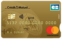 Carte Bancaire Gold Credit Mutuel.Carte Gold Mastercard Credit Mutuel