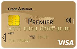 Carte Visa Premier Credit Mutuel