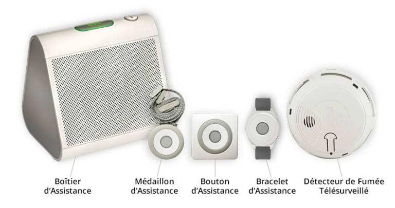Alarme Téléassistance Personnes Agées Senior Assistance