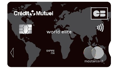 World Elite Mastercard Crédit Mutuel Nord Europe