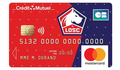Carte Mastercard Losc Avantages Plafond Crédit Mutuel