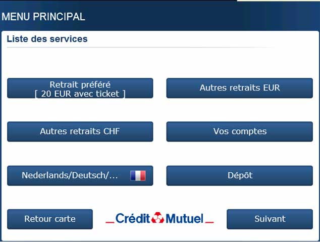 Le Paiement Sans Contact Evolue Credit Mutuel