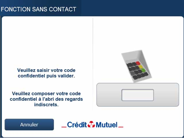 Le paiement sans contact volue cr dit mutuel - Plafond carte maestro credit agricole ...