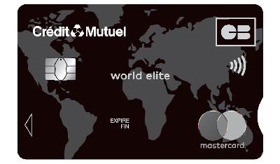Carte World Elite.World Elite Mastercard Credit Mutuel Nord Europe