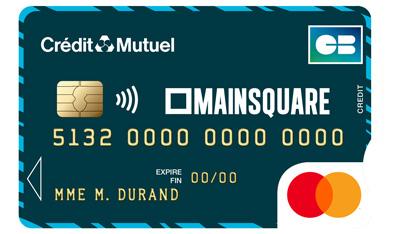 Carte Bleue Gratuite Credit Mutuel.Cartes Bancaires Mastercard Credit Mutuel Nord Europe
