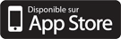Application Crédit Mutuel disponible sur App Store